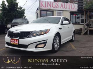 Used 2014 Kia Optima EX, BACK-UP CAM, LEATHER, TRACTION CONTROL for sale in Scarborough, ON