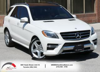 Used 2013 Mercedes-Benz ML 350 ML 350 BlueTEC   AMG   Navigation   Sunroof for sale in North York, ON