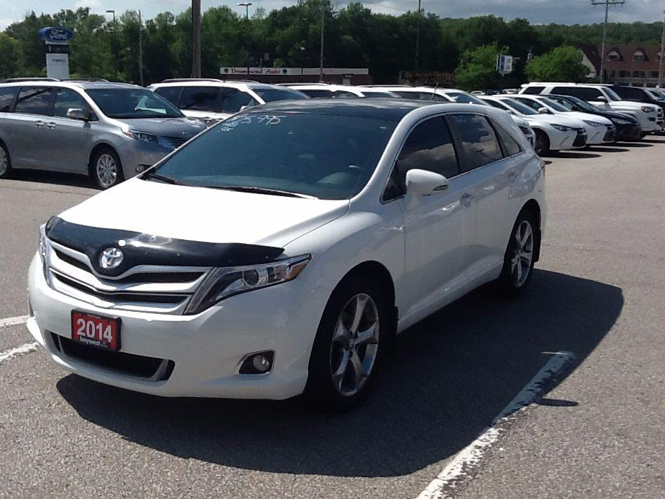 Owen Sound Toyota >> Used 2014 Toyota Venza Limited For Sale In Owen Sound Ontario
