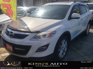 Used 2012 Mazda CX-9 GT,NAVI, AWD,7-PASS, SUNROOF, BACK-UP CAM, LEATHER for sale in Scarborough, ON