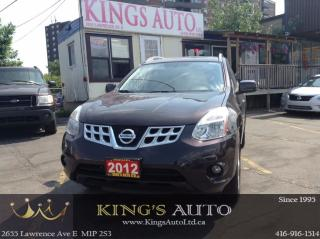 Used 2012 Nissan Rogue SV, AWD, SUNROOF, HTD SEATS, BACK-UP CAM, TRACTION for sale in Scarborough, ON
