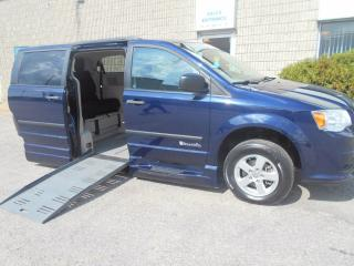 Used 2013 Dodge Grand Caravan SE-Wheelchair Accessible Side Entry Conversion for sale in London, ON