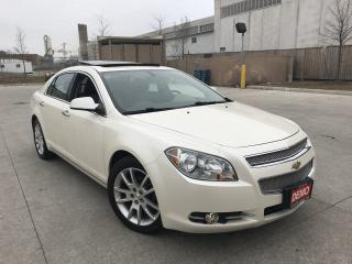Used 2010 Chevrolet Malibu LTZ,Leather,Sunroof,LowKm,3/Y warranty available for sale in North York, ON