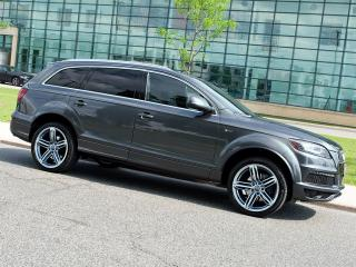 Used 2012 Audi Q7 3.0T|S LINE PLUS|NAVI|REARCAM|DUAL DVD|PANOROOF for sale in Scarborough, ON