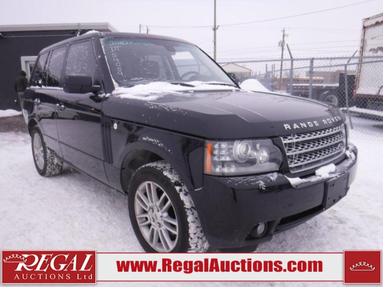 Photo of Black 2010 Land Rover Range Rover