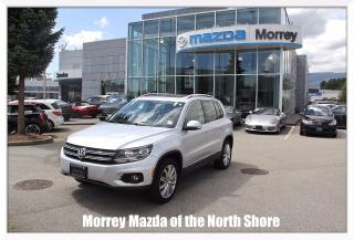 Used 2014 Volkswagen Tiguan Highline Automatic with Leather for sale in Surrey, BC