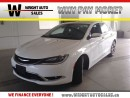 Used 2016 Chrysler 200 C|LEATHER|NAVIGATION|SUNROOF|25,220 KMS for sale in Cambridge, ON