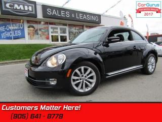 Used 2015 Volkswagen Beetle 1.8 TSI Comfortline  LEATHER, PANORAMIC ROOF, ALLOYS for sale in St Catharines, ON