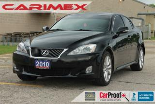 Used 2010 Lexus IS 250 | Navi | Cooled Seats | Bluetooth for sale in Waterloo, ON