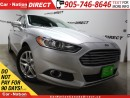 Used 2013 Ford Fusion SE| LEATHER| SUNROOF| BACK UP CAMERA| for sale in Burlington, ON