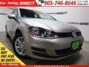 Used 2016 Volkswagen Golf 1.8 TSI Comfortline| BACK UP CAMERA| TOUCH SCREEN| for sale in Burlington, ON