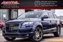 Used 2010 Audi Q7 QUATTRO|WarmWthr,S-LinePkgs|PanoSunroof|Nav.|RearEnt.|BoseSound|21
