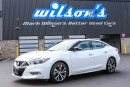 Used 2017 Nissan Maxima SV LEATHER! NAVIGATION! $93/WK, 5.89% ZERO DOWN! for sale in Guelph, ON