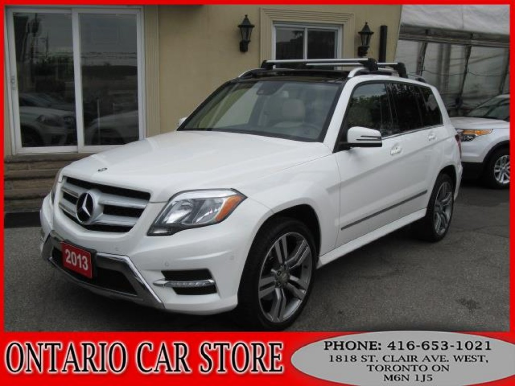 Used 2013 mercedes benz glk 250 bluetec 4 matic navigation for Used mercedes benz toronto