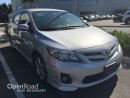Used 2013 Toyota Corolla 4dr Sdn Auto S for sale in Vancouver, BC