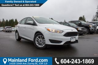 New 2017 Ford Focus SE for sale in Surrey, BC