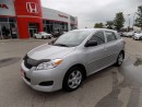 Used 2009 Toyota Matrix Base... CLEAN CARPROOF.. 1.8L ENGINE for sale in Milton, ON