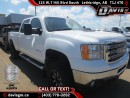 Used 2012 GMC Sierra 2500 HD SLT-Diesel, HD Trailering Package, Bluetooth for sale in Lethbridge, AB