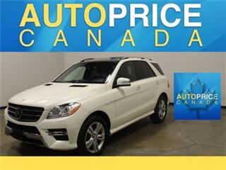 Used 2015 Mercedes-Benz ML-Class PANOROOF NAVIGATION REAR CAM for sale in Mississauga, ON