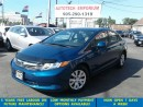 Used 2012 Honda Civic LX Auto Bluetooth &ABS*39/wkly for sale in Mississauga, ON
