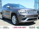 Used 2015 Jeep Grand Cherokee Summit - Local One Owner Trade In | No Accidents | Harmon Kardon Audio | 2 Sets of Tires Included | Navigation | Back Up Camera | Parking Sensors | Power Sunroof | Power Liftgate | 20 Inch Wheels | Collision Avoidance | Adaptive Cruise Control | Blind Spo for sale in Edmonton, AB