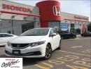 Used 2013 Honda Civic EX,one owner,original roadsport car for sale in Scarborough, ON