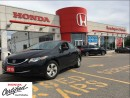 Used 2015 Honda Civic Sedan LX, only 38,800 kilometers for sale in Scarborough, ON