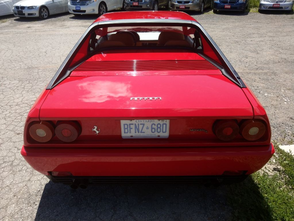 used 1991 ferrari mondial t coupe for sale in hornby ontario. Black Bedroom Furniture Sets. Home Design Ideas