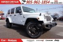 Used 2017 Jeep Wrangler Unlimited SAHARA| DUAL TOP| TRAILER TOW GROUP| LEATHER| for sale in Mississauga, ON