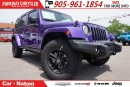 Used 2017 Jeep Wrangler Unlimited SAHARA| DUAL TOP| NAV| TRAILER TOW GROUP & MORE| for sale in Mississauga, ON