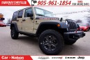 Used 2017 Jeep Wrangler Unlimited RUBICON| RECON EDITION| NAV| LED| LEATHER| for sale in Mississauga, ON