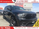 Used 2016 Dodge Durango R/T | NAVI | AWD | 5.7L V8 | LEATHER | SUNROOF | for sale in Georgetown, ON