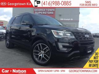 Used 2017 Ford Explorer Sport | NAVI | 4X4 | PANO ROOF | CLEAN CARPROOF for sale in Georgetown, ON