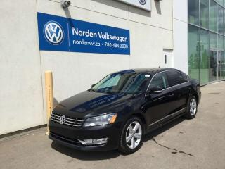 Used 2015 Volkswagen Passat 2.0L TDI COMFORTLINE - LEATHER / HEATED SEATS for sale in Edmonton, AB