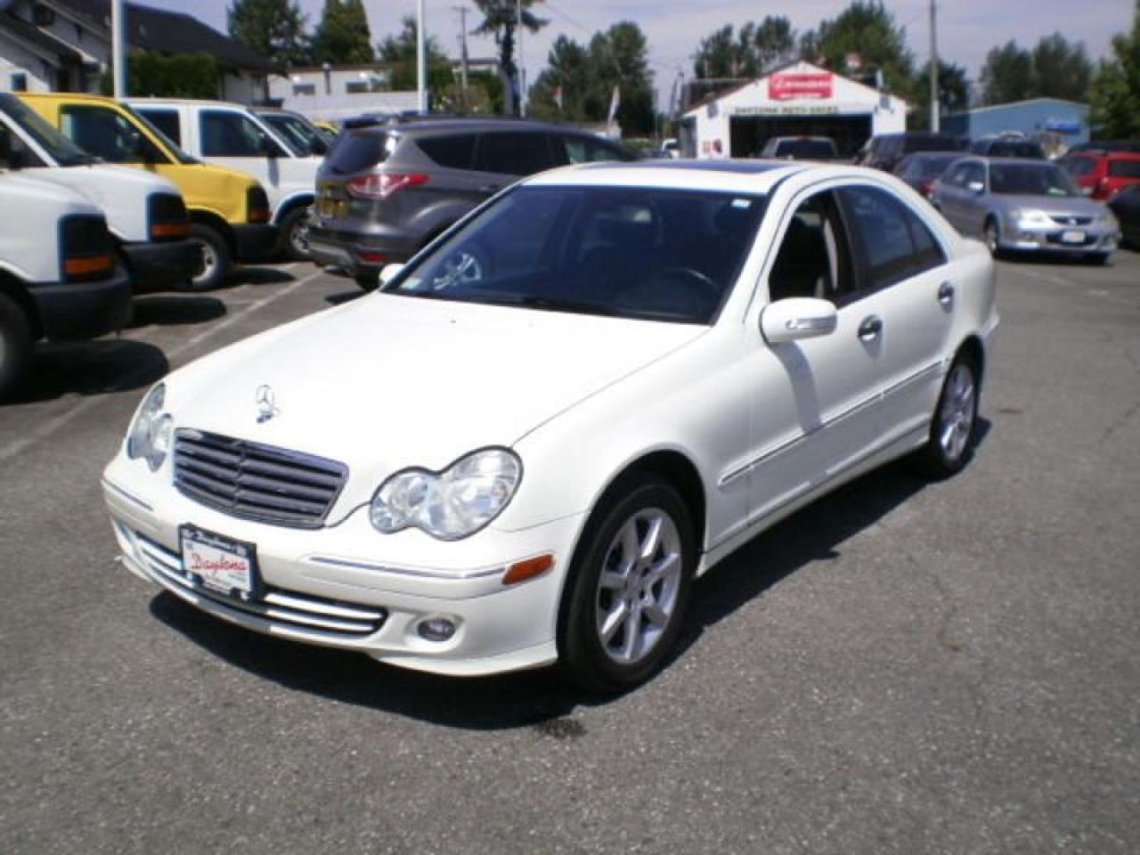 2006 Mercedes-Benz C230 2.5L, white,