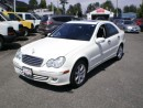 Used 2006 Mercedes-Benz C230 2.5L, white, for sale in Surrey, BC