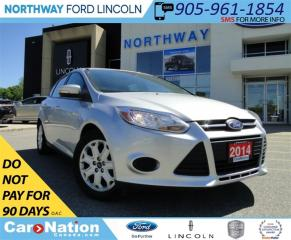 Used 2014 Ford Focus SE |HEATED SEATS | BLUETOOTH | SUN ROOF | for sale in Brantford, ON