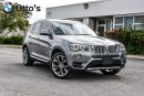 Used 2015 BMW X3 xDrive35i for sale in Ottawa, ON