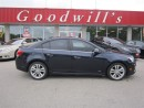 Used 2015 Chevrolet Cruze LTZ! NAVI! SUNROOF! HEATED LEATHER SEATS! for sale in Aylmer, ON