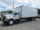 Used 2007 Ford F-650 24ft FRP box and power tailgate lift for sale in Richmond Hill, ON