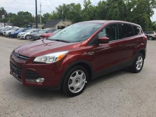 Used 2014 Ford ESCAPE SE * REAR CAM * BLUETOOTH * SAT RADIO SYSTEM for sale in London, ON