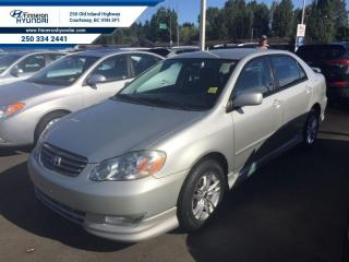 Used 2003 Toyota Corolla CE for sale in Courtenay, BC