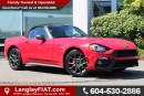 New 2017 Fiat 124 Spider Abarth RAIN SENSING WIPERS for sale in Surrey, BC