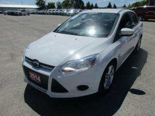 Used 2014 Ford Focus POWER EQUIPPED SE EDITION 5 PASSENGER 2.0L - DOHC.. HEATED SEATS.. SYNC TECHNOLOGY.. FLEX FUEL.. KEYLESS ENTRY.. for sale in Bradford, ON