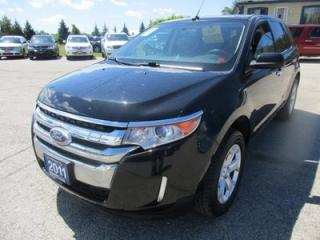 Used 2011 Ford Edge LOADED SEL MODEL 5 PASSENGER 3.5L - V6.. AWD.. LEATHER.. DUAL SUNROOF.. NAVIGATION.. SYNC TECHNOLOGY.. for sale in Bradford, ON