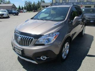 Used 2015 Buick Encore LOADED AWD 5 PASSENGER 1.4L - TURBO.. LEATHER.. HEATED SEATS.. POWER SUNROOF.. BACK-UP CAMERA.. BOSE AUDIO.. for sale in Bradford, ON