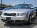 Used 2002 Audi A4 1.8t Quattro for sale in Scarborough, ON