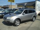 Used 2010 Subaru Forester 2.5 XT LIMITED TURBO! LEATHER, PANO! LOADED! for sale in Etobicoke, ON