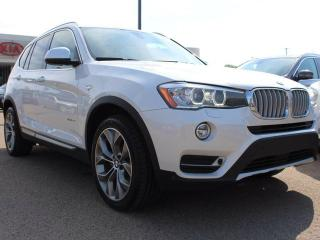 Used 2015 BMW X3 xDRIVE35i, 300HP TWIN TURBO!!!, PANORAMIC SUNROOF, HEATED SEATS for sale in Edmonton, AB
