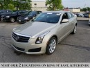 Used 2014 Cadillac ATS 2.0L Turbo | AWD | NO ACCIDENTS for sale in Kitchener, ON